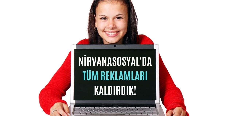 NirvanaSosyal'de tüm reklamları kaldırdık
